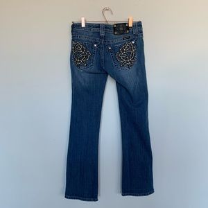 Miss Me size 28 bootcut jeans